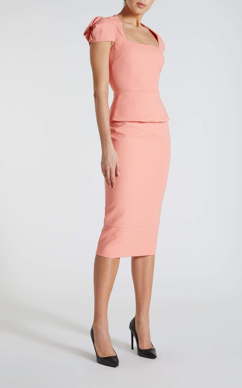 Galaxy Skirt In Antique Rose from Roland Mouret