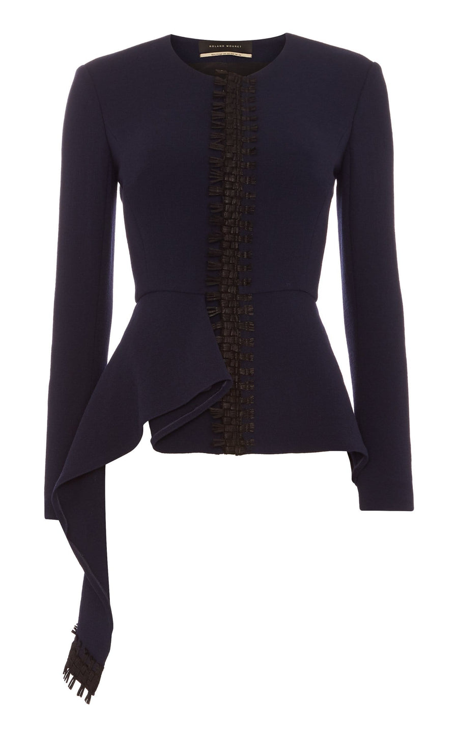Greenwood Jacket In Navy/Black from Roland Mouret