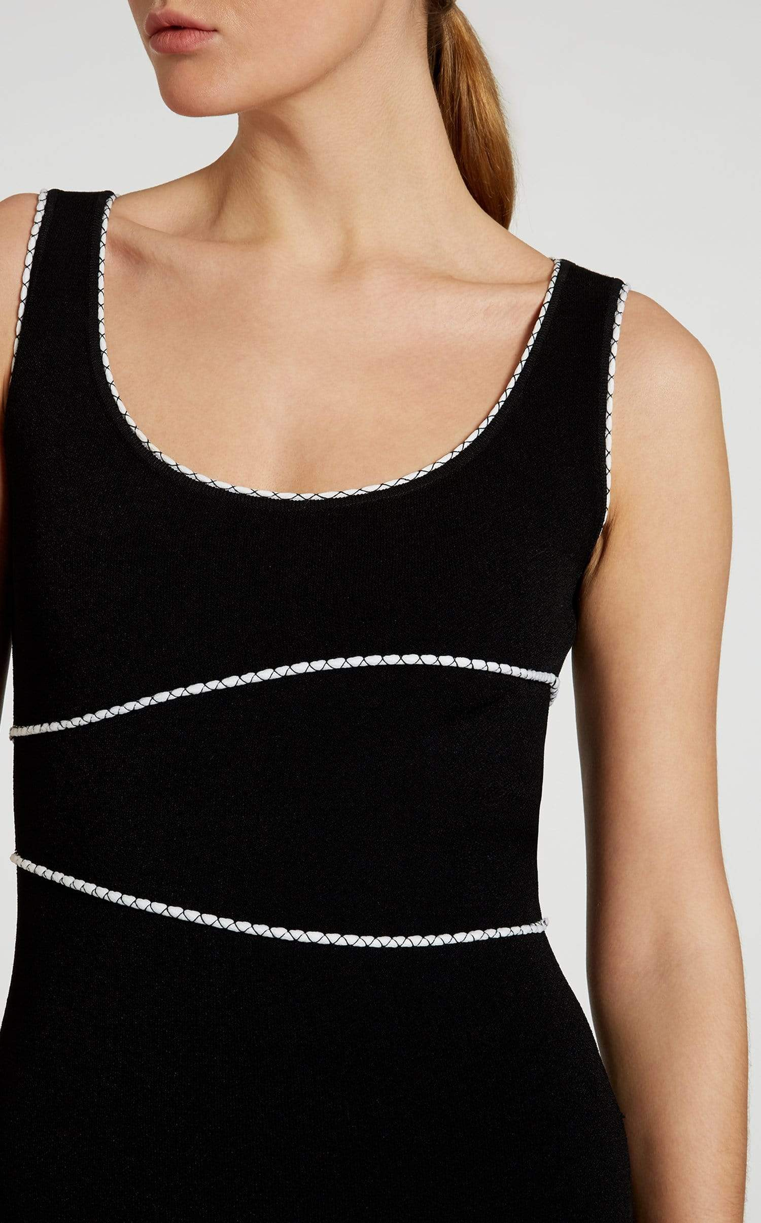 Harbour Dress In Black/White from Roland Mouret