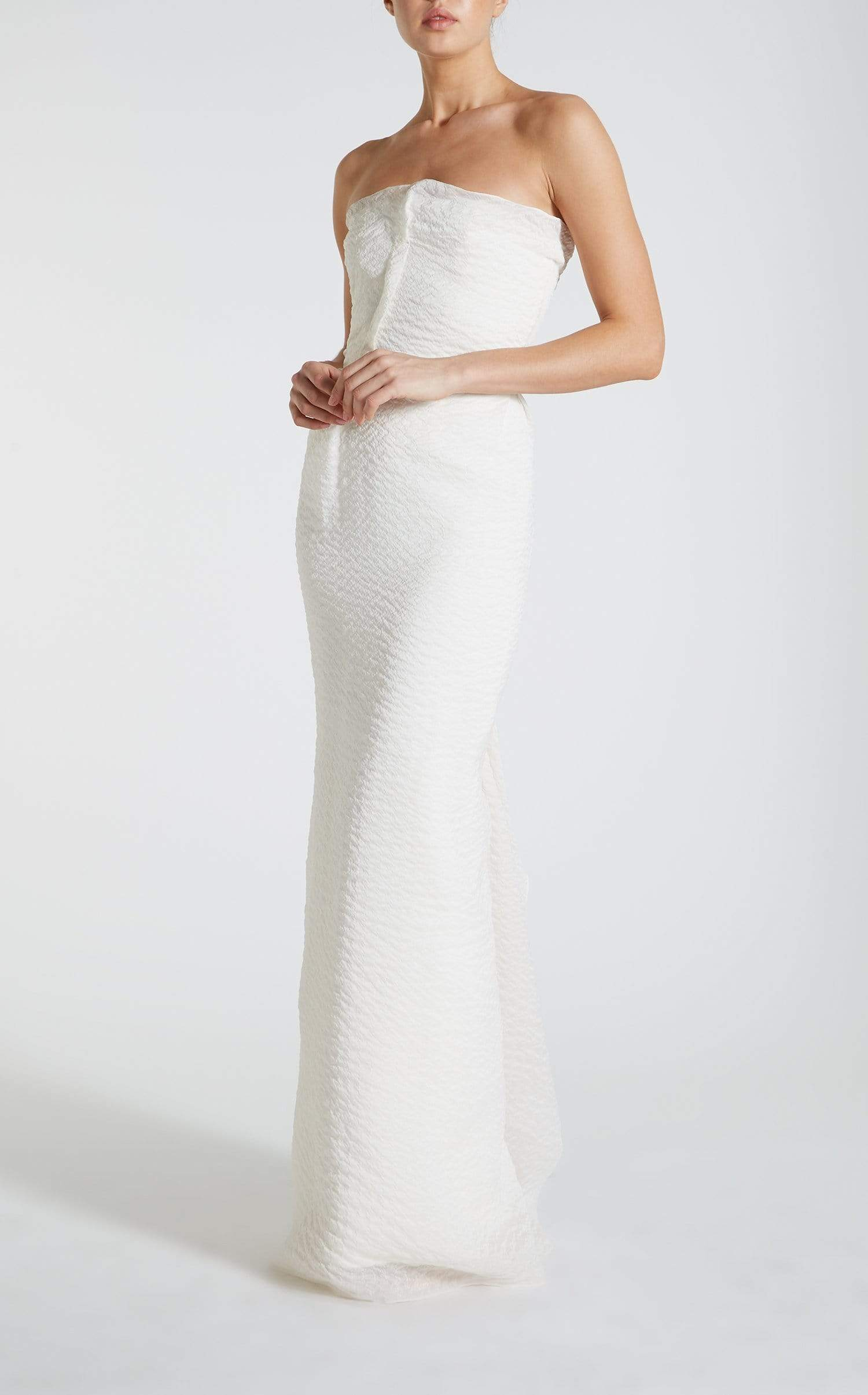 Henderson Gown In White from Roland Mouret