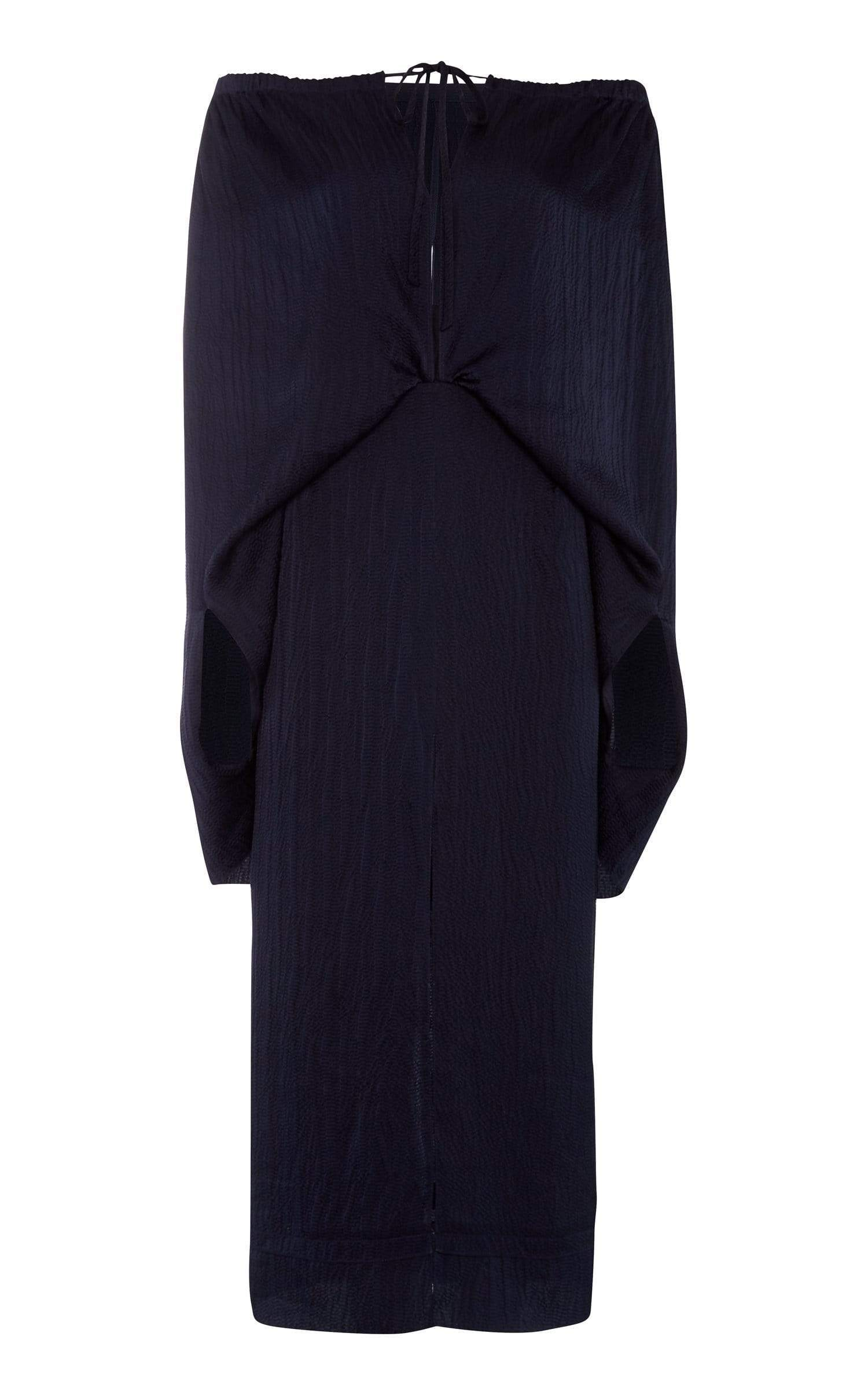 Hinsby Dress In Navy from Roland Mouret