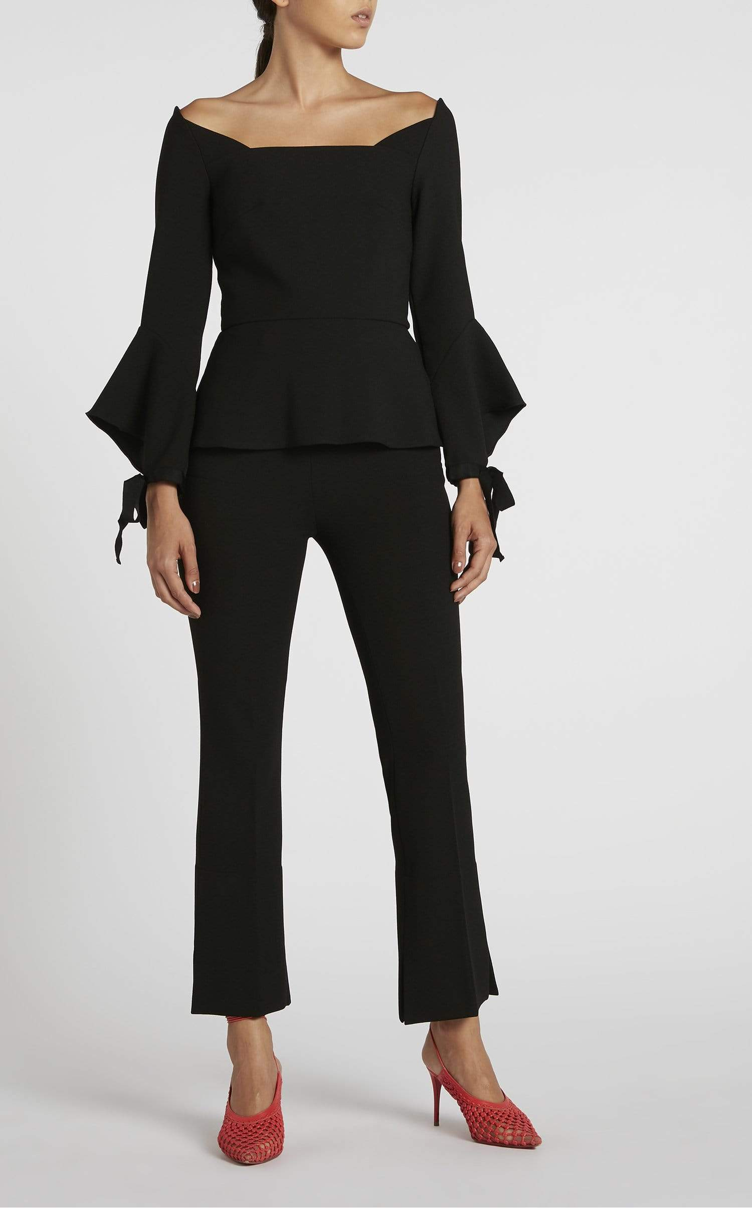 Goswell Trouser In Black from Roland Mouret