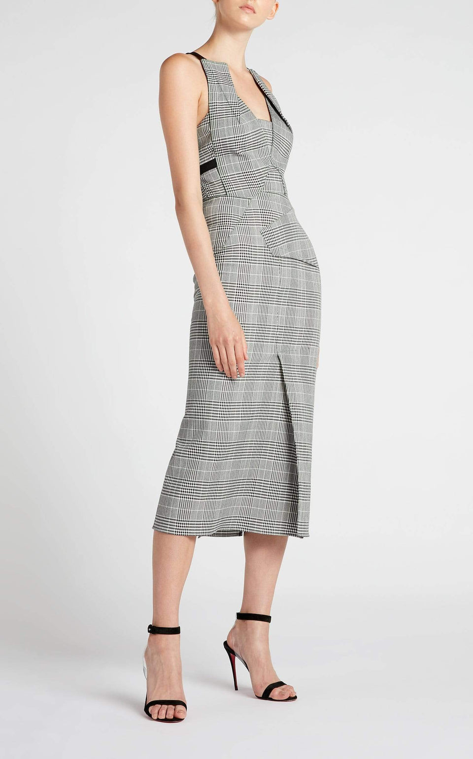 Holloway Dress In Monochrome from Roland Mouret