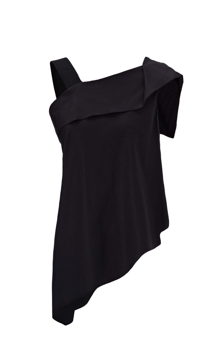 Iver Top In Black from Roland Mouret