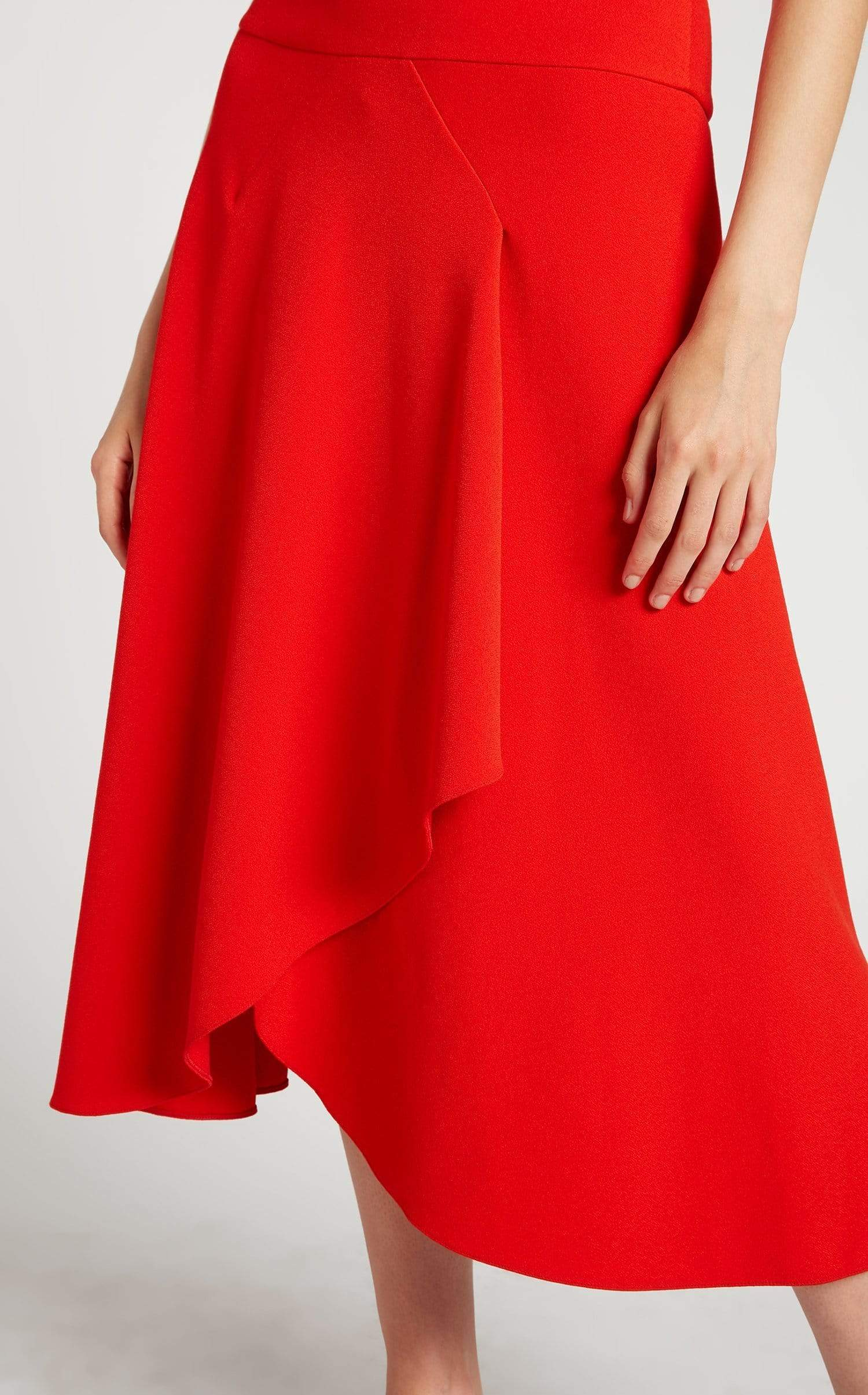 Jackson Dress In Poppy Red from Roland Mouret