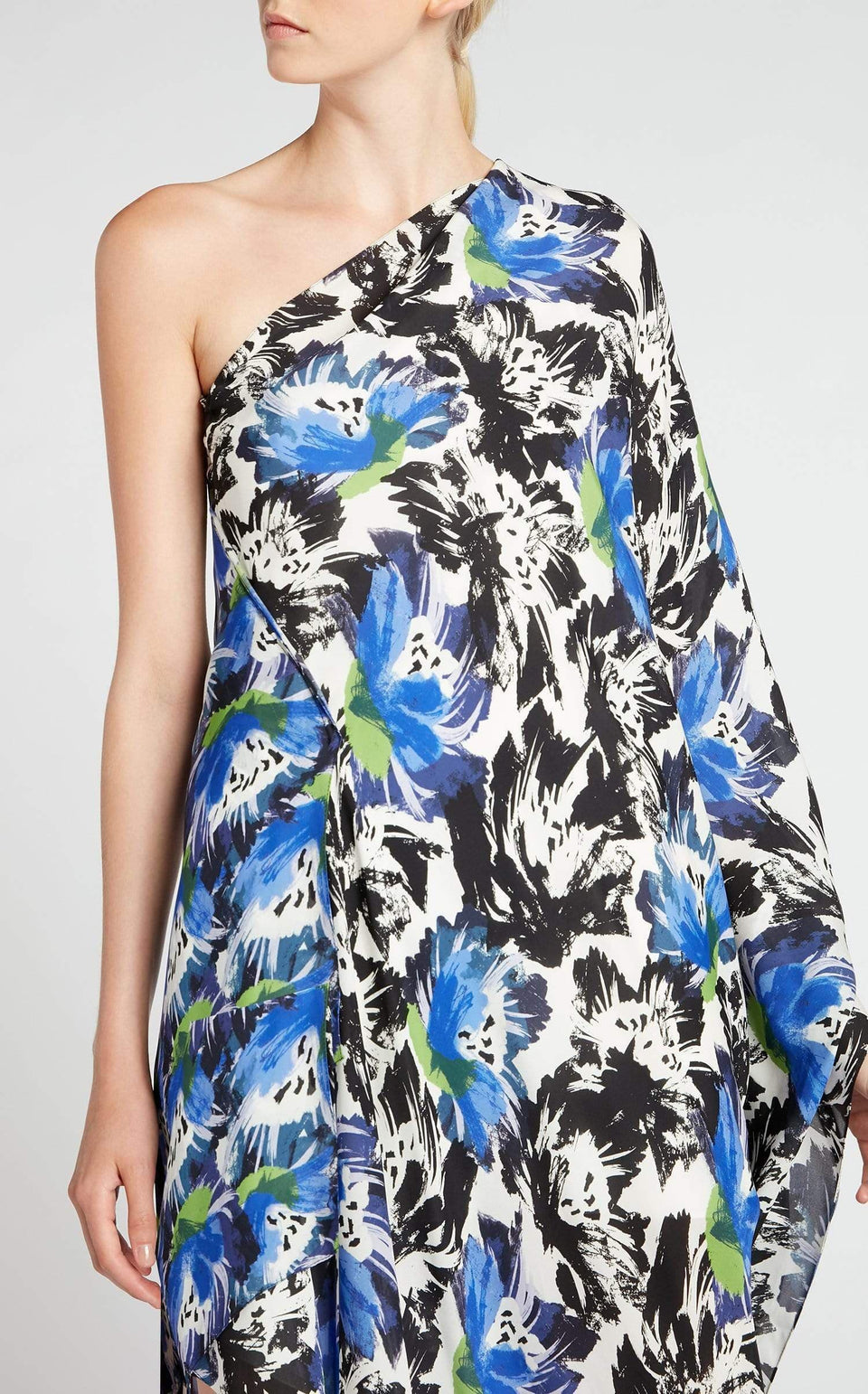 Knight Dress In Mixed Painterly from Roland Mouret