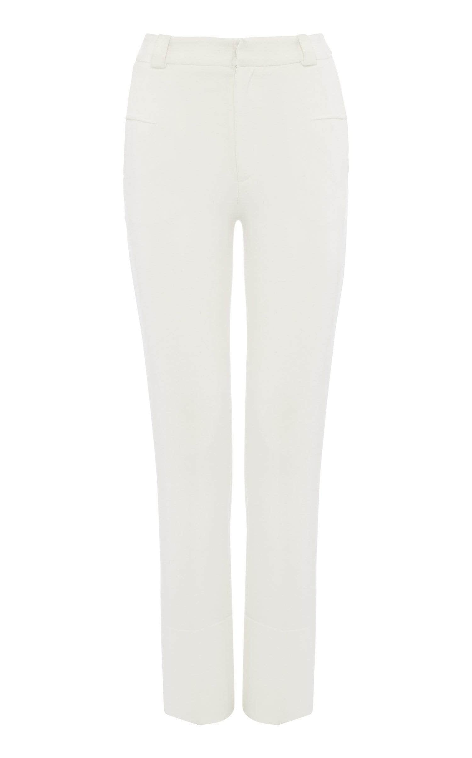 Lacerta Trouser In White from Roland Mouret