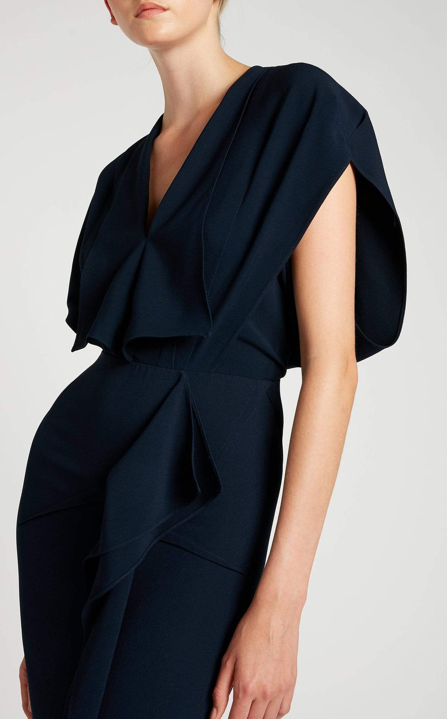 Lorre Gown In Navy from Roland Mouret