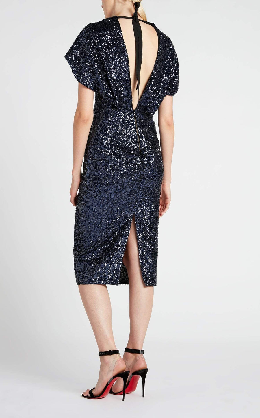 Marianne Dress In Navy from Roland Mouret
