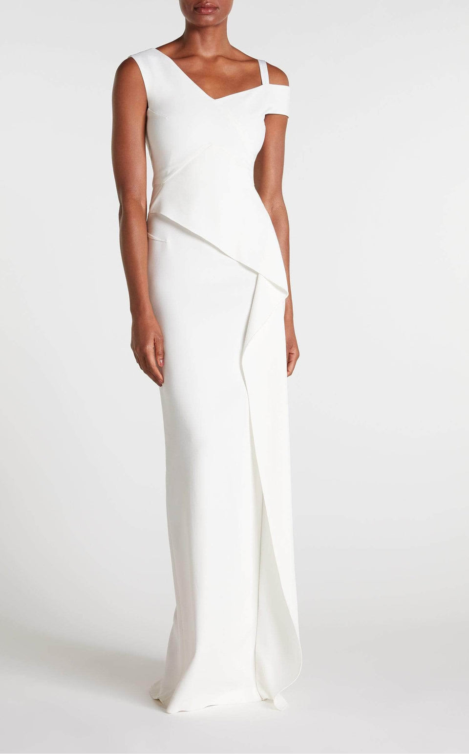 Mirtom Gown In White from Roland Mouret