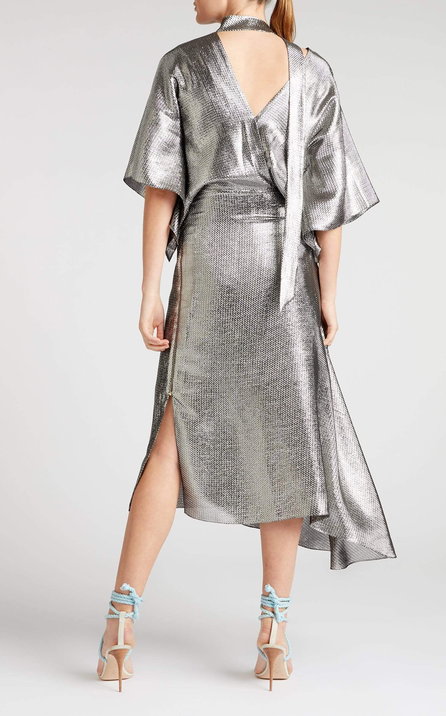 Meyers Dress In Silver from Roland Mouret