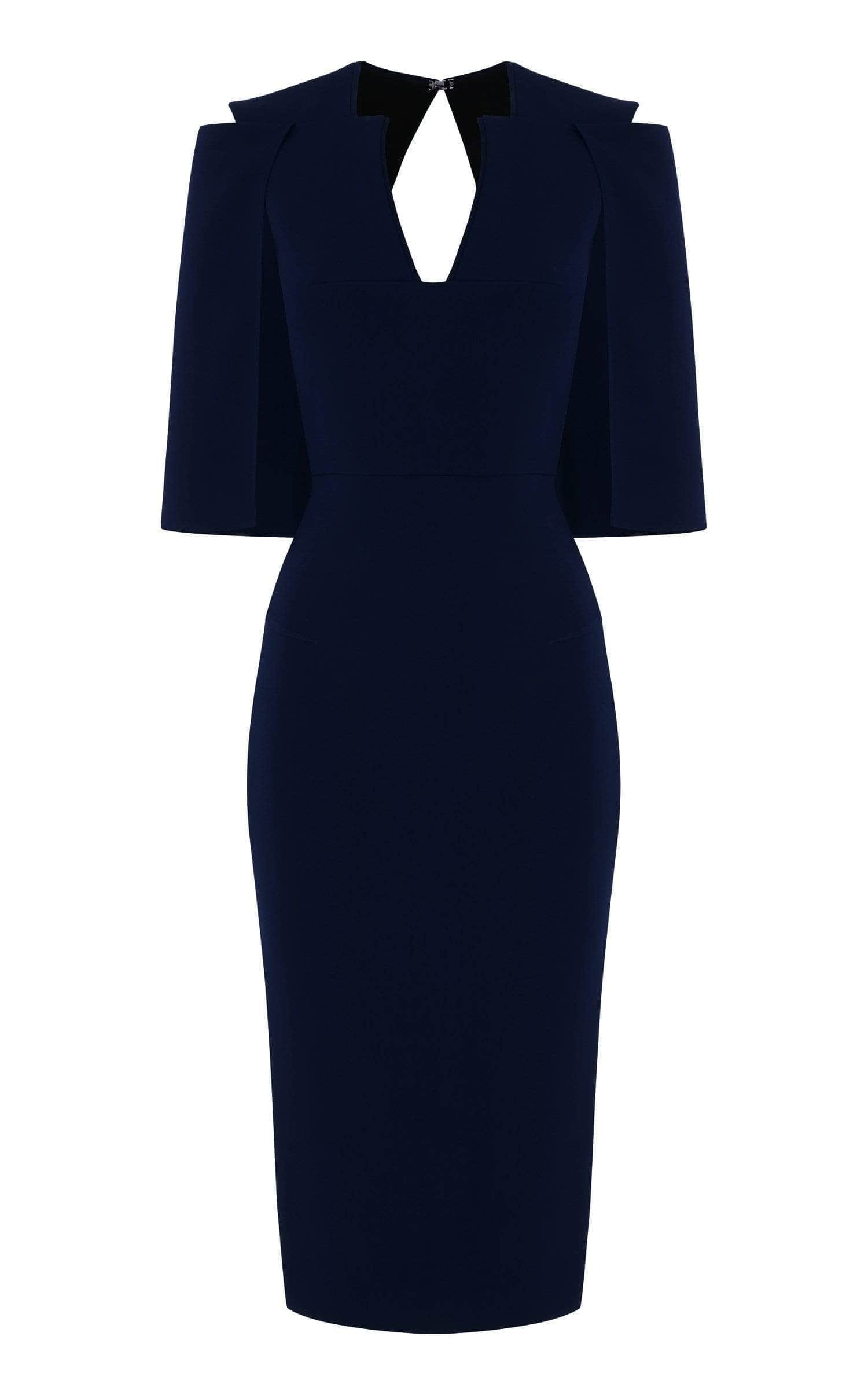 Queensbury Dress In Navy from Roland Mouret