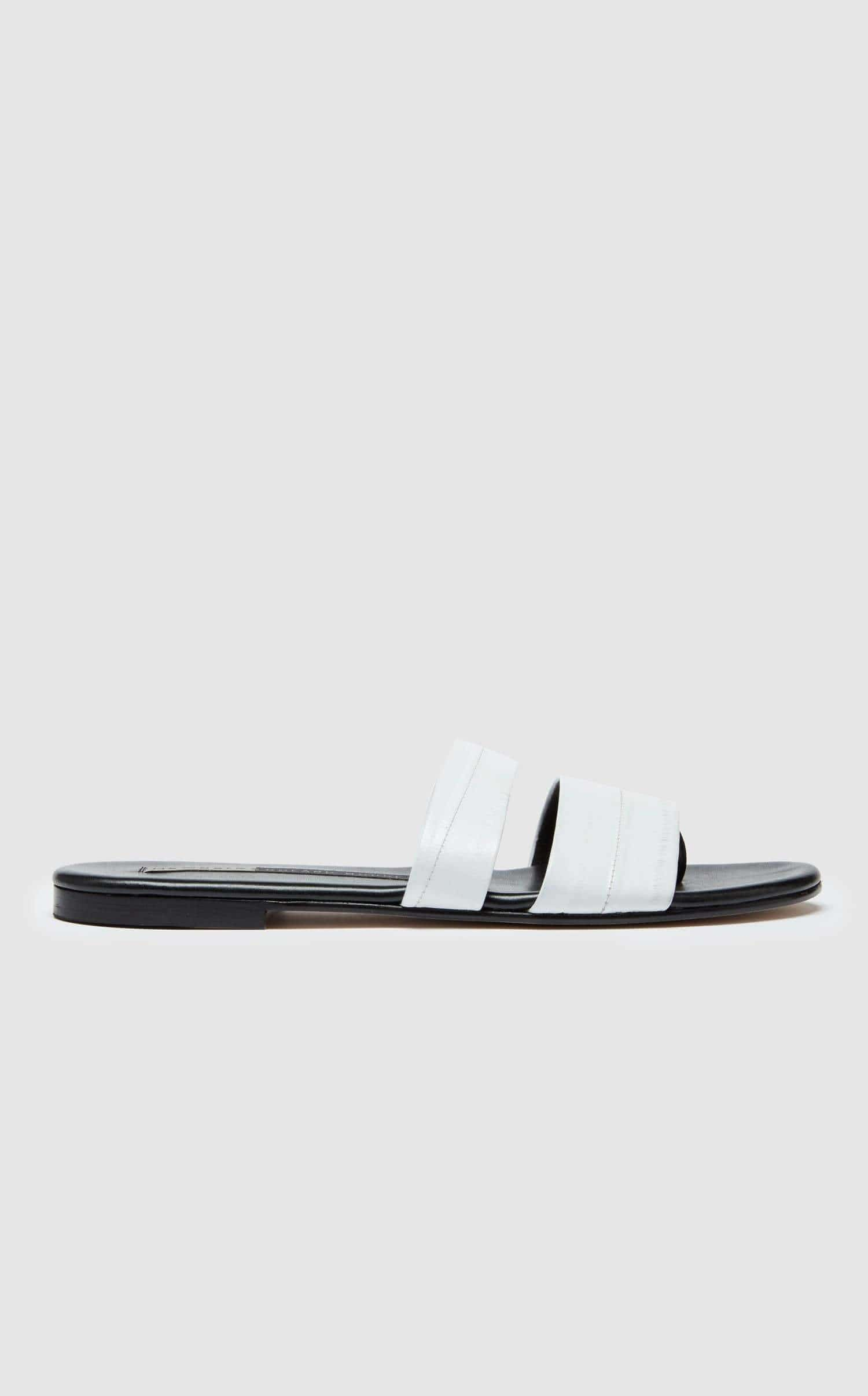 Roma III Sandal In White from Roland Mouret