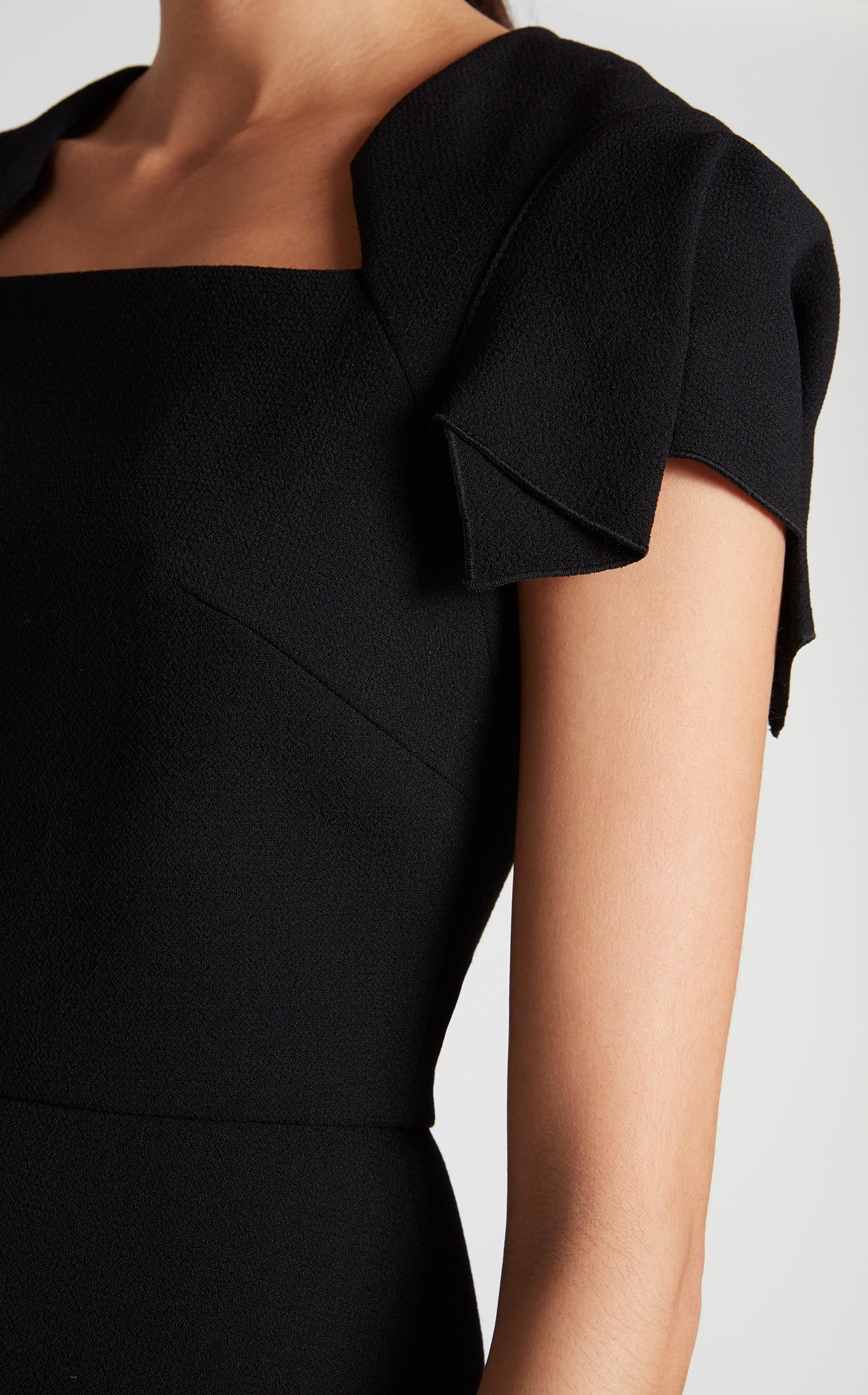 Royston Dress In Black from Roland Mouret
