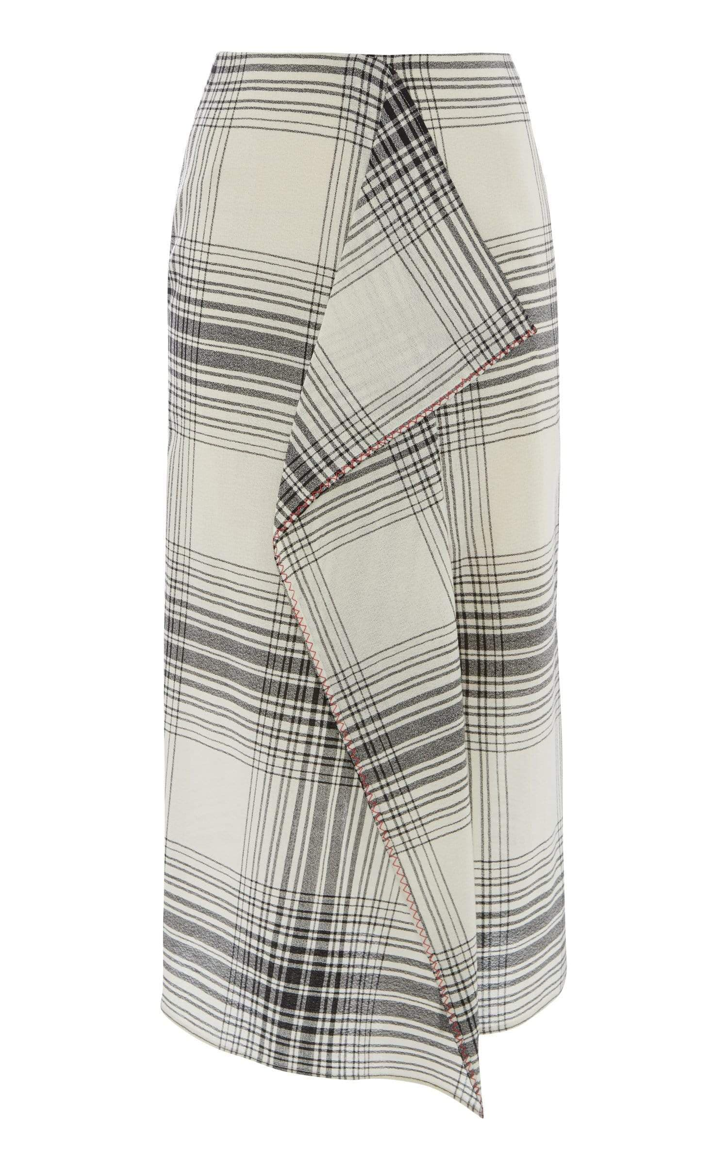 Casha Skirt In Monochrome from Roland Mouret