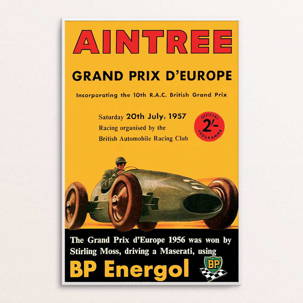Aintree 1957 Poster Print