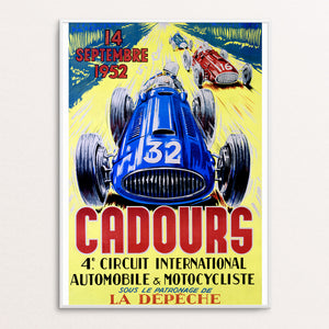 Cadours 1952 Poster Print