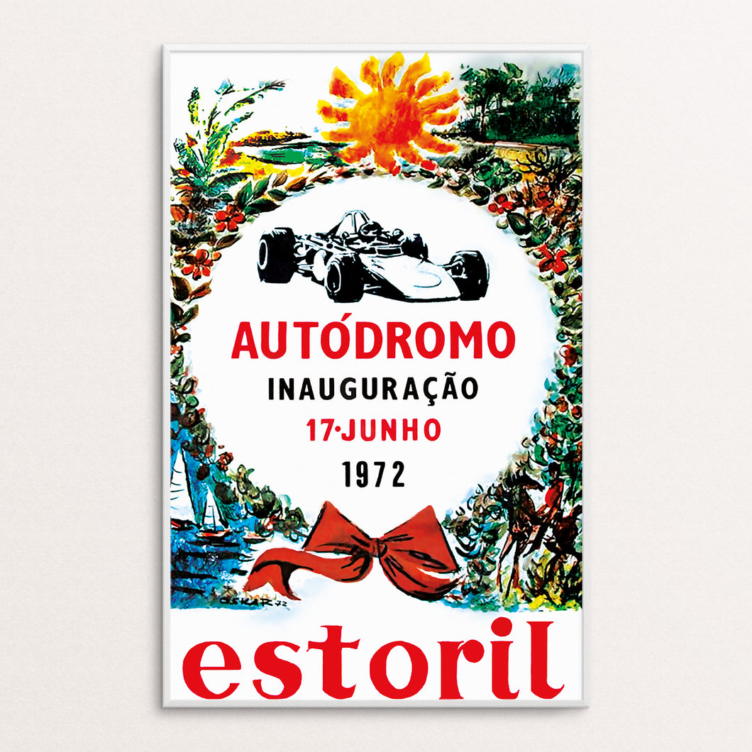 Estoril 1972 Poster Print