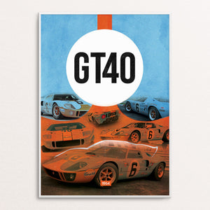 GT40 Poster Print