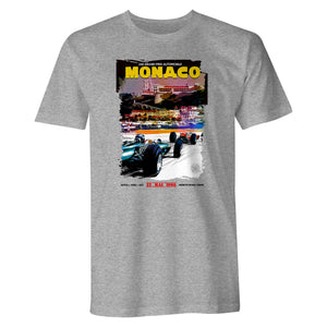 Monaco 24E Grand Prix Automobile Unisex T Shirt