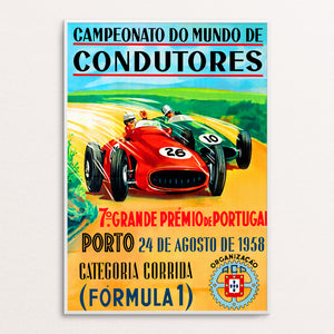 Portugal 1958 Poster Print