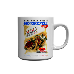 Motorcycle Mississippi Valley Ceramic Mug