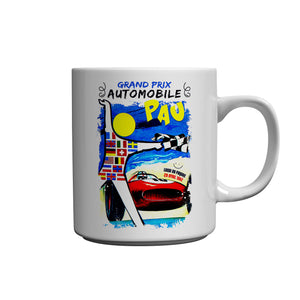 Grand Prix Automobile Pau Ceramic Mug