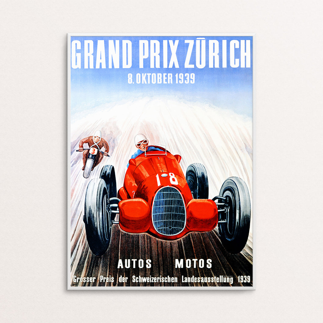 Grand Prix Munich Poster Print