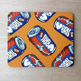 I Love Bru table mat