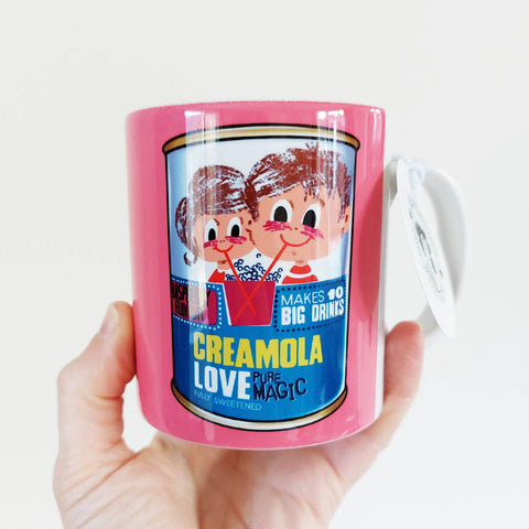'Creamola Love' illustrated mug