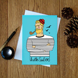 Hello Sailor greeting card