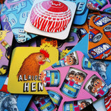 Alright Hen Coaster Set (pack of 4)