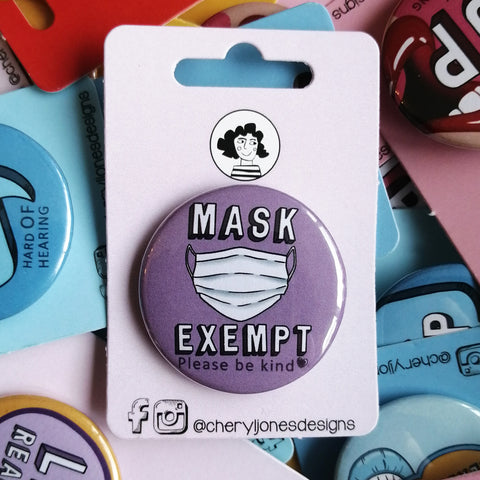 Mask Exempt Badge