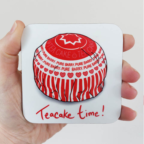 Teacake Time! Coaster (single)