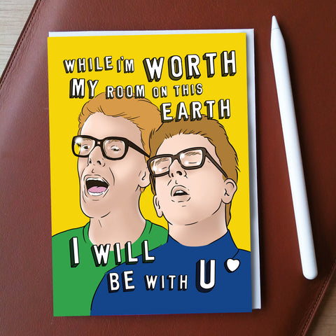 While I'm Worth Greeting Card