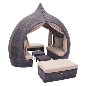 Majorca Daybed Brown & Beige - Suave Home