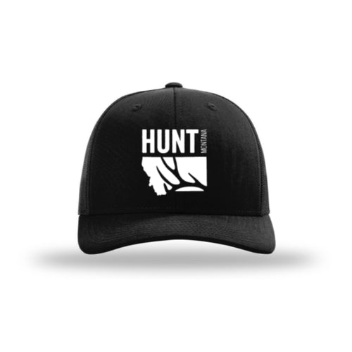 Hunt Montana - Snapback Hat - Black