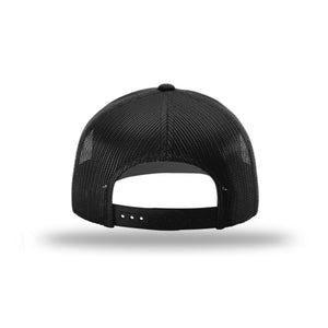 Hunt Montana - Snapback Hat - Black - DEER SHED ANTLER