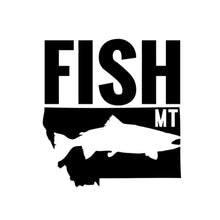 FISH MONTANA - TROUT - TRUCK DECAL