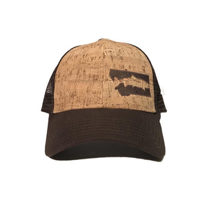 FISH MONTANA - SNAPBACK HAT - CORK/BROWN