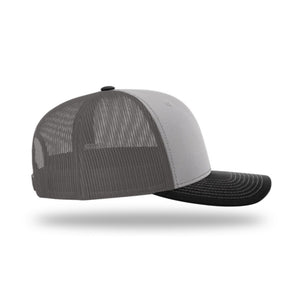 Hunt Montana - Snapback Hat - Grey/Charcoal/Black