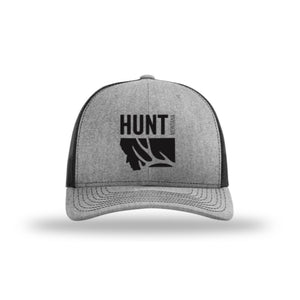 Hunt Montana - Snapback Hat - Heather/Black