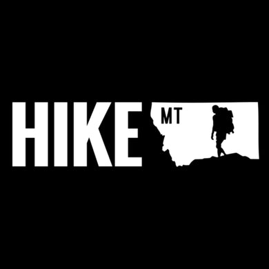 HIKE MONTANA - TRUCK DECAL - VINYL STICKER