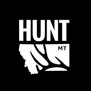 Hunt Montana - Truck Decal - Deer