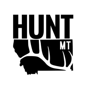 Hunt Montana - Truck Decal - Elk