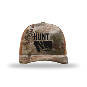 HUNT MONTANA - DEER HUNTING HAT - Kryptek Highlander