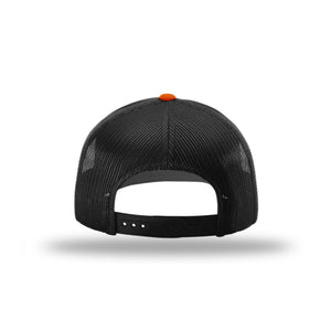 Hunt Montana - Snapback Hat - Orange/Black - DEER ANTLER