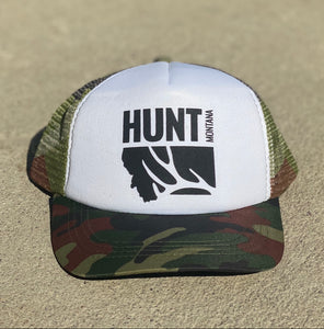 Hunt Montana - Youth Hat - Camo