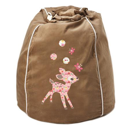 Kid's Bean Bag Cover - Sweet Deer Sand