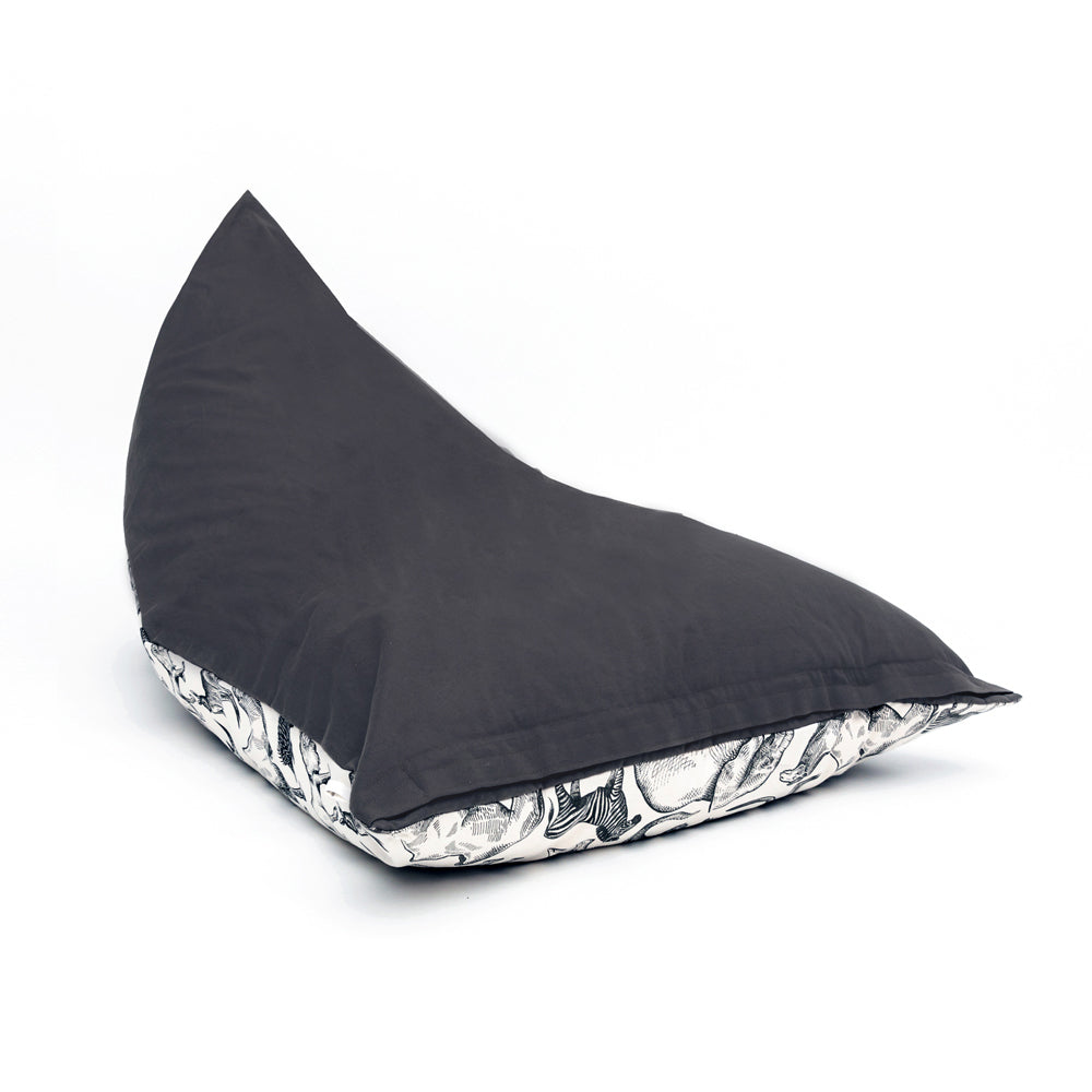 WILD ONES COLLECTION - Bean Bag cover - Charcoal (PRE-ORDER)